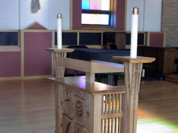 ... Of Our Church Furniture. Weu0027ll Work With You To Create A Church Pulpit  Or Lectern That Fits Your Budget And Makes A Welcome Addition To Your  Worship ...